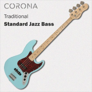 코로나 베이스 기타 Traditional Standard Jazz Daphne Blue Maple