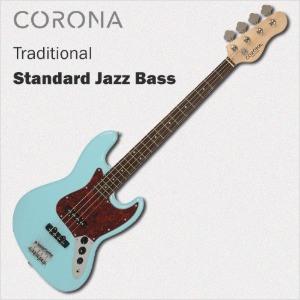 코로나 베이스 기타 Traditional Standard Jazz Daphne Blue Laurel